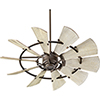 This item: Windmill Oiled Bronze  52-Inch Ceiling Fan