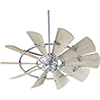 This item: Windmill Galvanized  52-Inch Ceiling Fan