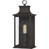 This item: Abernathy Old Bronze One-Light Outdoor Wall Mount