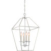This item: Aviary Polished Nickel 13-Inch Four-Light Pendant