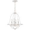 This item: Bradbury Antique White Four-Light Chandelier