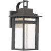 This item: Beacon 14-Inch Stone Black LED Outdoor Wall Sconce