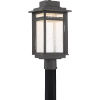 This item: Beacon Stone Black LED Outdoor Post
