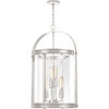 This item: Baltimore Polished Nickel Four-Light Chandelier