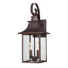 This item: Chancellor Copper Bronze 19-Inch Two-Light Outdoor Fixture