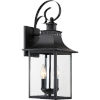 This item: Chancellor Mystic Black Two-Light Outdoor Wall Sconce