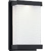 This item: Celine Matte Black Six-Inch ADA LED Outdoor Wall Mount