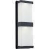 This item: Celine Matte Black ADA LED Outdoor Wall Mount