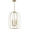 This item: Cornell Weathered Brass Five-Light Pendant