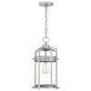This item: Carrington Industrial Aluminium One-Light Outdoor Pendant