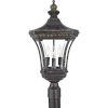 This item: Devon Outdoor Post Mount Light