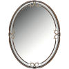 This item: Duchess Large Oval Mirror