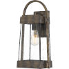 This item: Ellington Statuary Bronze 17-Inch One-Light Outdoor Lantern with Clear Seedy Glass