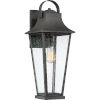 This item: Galveston Mottled Black 22-Inch One-Light Outdoor Wall Sconce