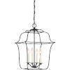 This item: Gallery Royal Ebony 14-Inch Four-Light Pendant