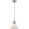 This item: Grant Brushed Nickel One-Light Mini Pendant