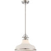 This item: Grant Brushed Nickel One-Light Pendant