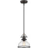 This item: Grant Seedy Glass Palladian Bronze One-Light Mini Pendant