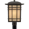 This item: Hillcrest Outdoor Post-Mounted Lantern