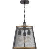 This item: Lindstrom Matte Black Three-Light Mini Pendant