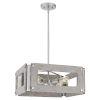 This item: Lonny Brushed Nickel Four-Light Pendant