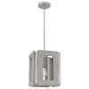 This item: Lonny Brushed Nickel One-Light Pendant