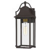 This item: Manning Western Bronze One-Light Outdoor Wall Mount