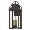 This item: Manning Western Bronze Three-Light Outdoor Wall Mount