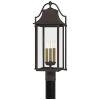 This item: Manning Western Bronze Three-Light Outdoor Post