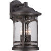 This item: Marblehead Palladian Bronze 17.5-Inch Height Three-Light Outdoor Wall Mounted