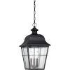 This item: Millhouse Mystic Black Three Light Outdoor Hanging