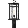 This item: Moira Earth Black One-Light Outdoor Post Mount