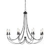 This item: Mirren Imperial Bronze Eight-Light Chandelier