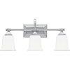 This item: Nicholas Polished Chrome Three-Light Bath Light