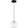This item: Navigator Earth Black One-Light Mini Pendant