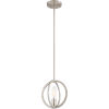 This item: Orion Brushed Nickel 9-Inch One-Light Mini Pendant