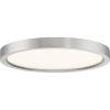 This item: Outskirt Brushed Nickel 11-Inch LED Flush Mount