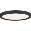 This item: Outskirts Earth Black 11-Inch LED Flush Mount with White Acrylic Shade