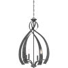 This item: Outlook Old Black Finish Four-Light Pendant