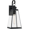 This item: Paxton Matte Black Seven-Inch One-Light Outdoor Wall Sconce