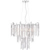 This item: Platinum Collection Daybreak Polished Chrome Seven-Light Chandelier