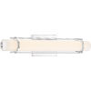 This item: Platinum Collection Fleet Polished Chrome 22-Inch LED Bath Light