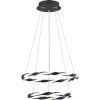 This item: Finale Earth Black Integrated LED Chandelier