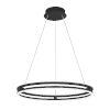 This item: Graves Matte Black 24-Inch LED Pendant