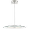 This item: Platinum Collection Hover Polished Chrome LED Pendant