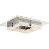 This item: Platinum Collection Lunette 11-Inch Polished Chrome LED Flush Mount