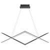 This item: Newman Matte Black LED Chandelier