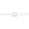 This item: Rosalie Brushed Aluminum 30-Inch Integrated LED One-Light Bath Vanity with Clear Acrylic Crystal Beads