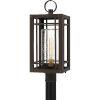 This item: Pelham Western Bronze One-Light Outdoor Post Mount