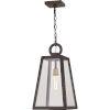 This item: Poplar Point Old Bronze One-Light Outdoor Pendant